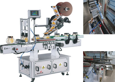 Cina Mesin Pelabelan Label Labeling Labeling Mesin Top / Top To Side pemasok
