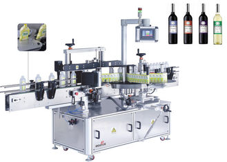 Kaca Botol Automatic Double Side Sticker Pelabelan Mesin Depan Dan Belakang