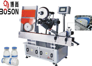 Industri Farmasi Vial Sticker Labeling Machine, Self Adhesive Sticker Labeling Machine