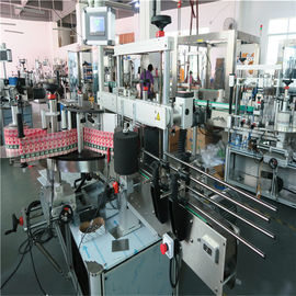 350ML Automatic Glass Bottle Labeling Machine 190mm Tinggi Max