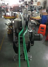 CE Sticker Label Applicator, Wine Bottle Labeling Machine Servo Motors Mengemudi