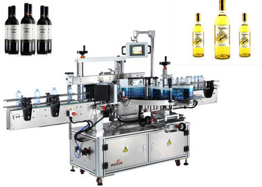 Kaca Botol Label Aplikator Single Side Automatic Labeler Machine